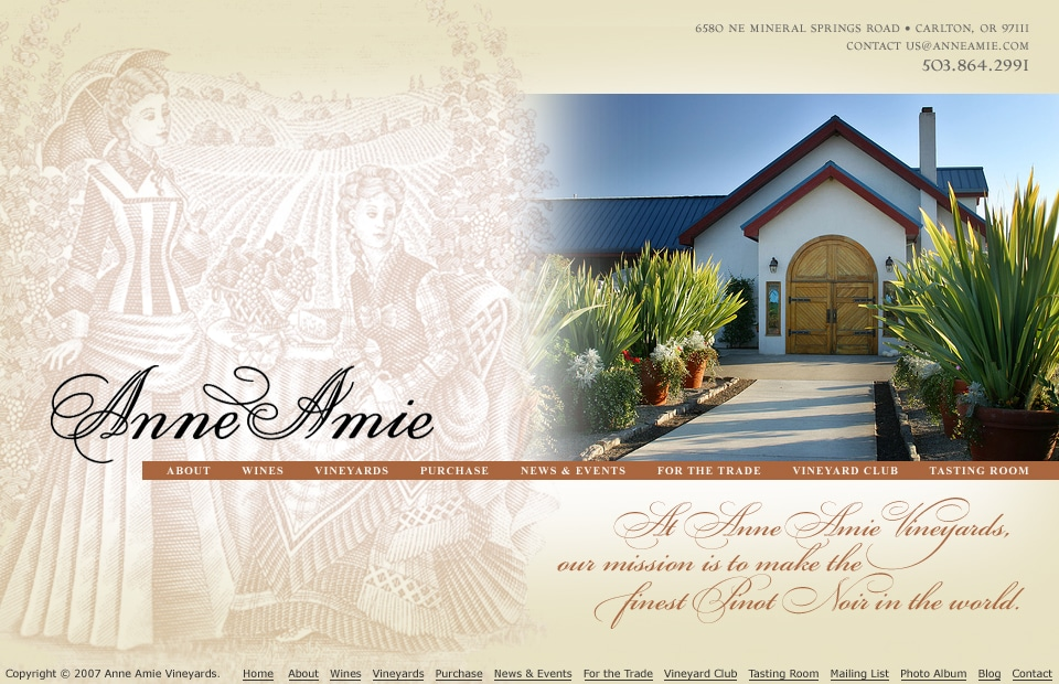 anne-amie-website