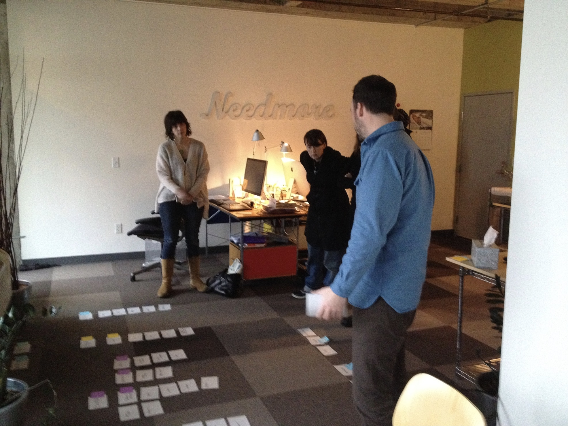 Needmore team ideating