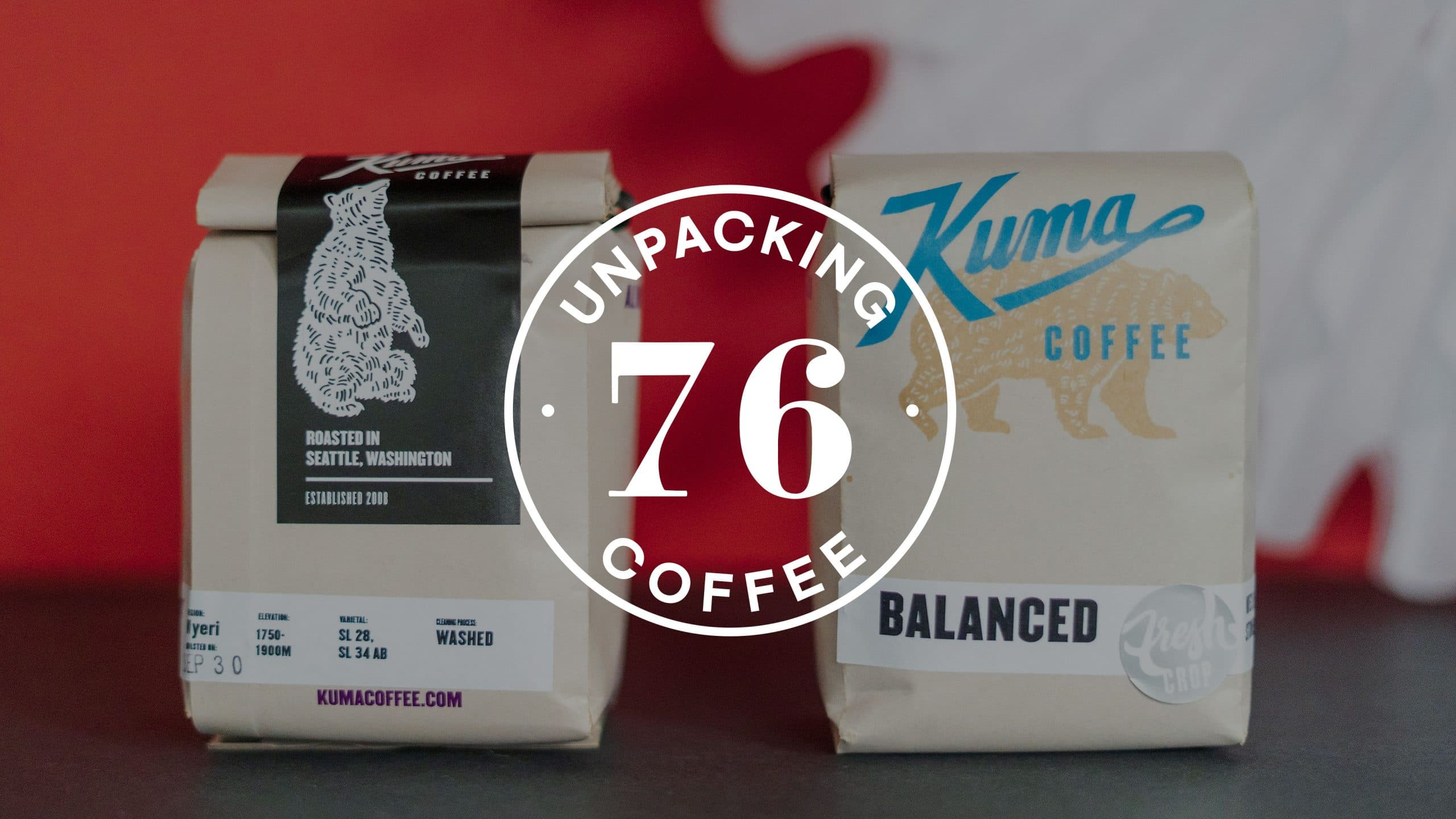Unpacking Coffee episode cover for Kuma Coffee