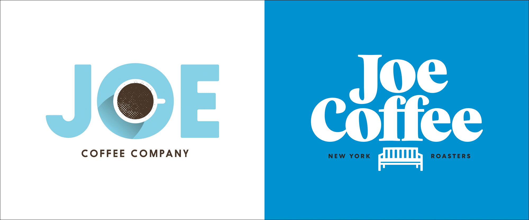comparing old and new logo