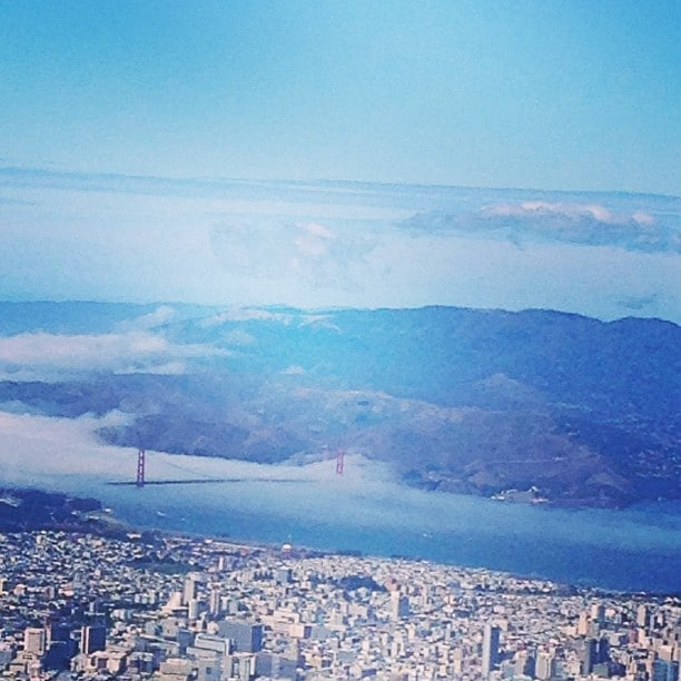San Francisco by Plane